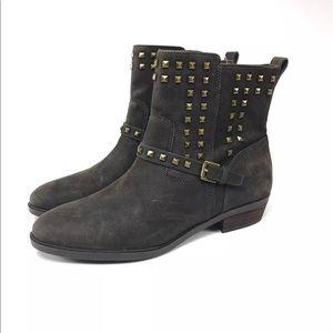 Lauren Ralph Lauren Brown Ankle Boots